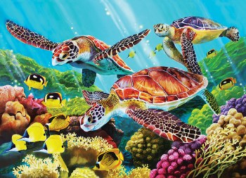 Cobble Hill 350pc Molokini Current Family Puzzle