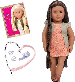 Our Generation Flora 18 Inch Hair Play Collection