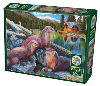 Cobble Hill 1000pc River Otters