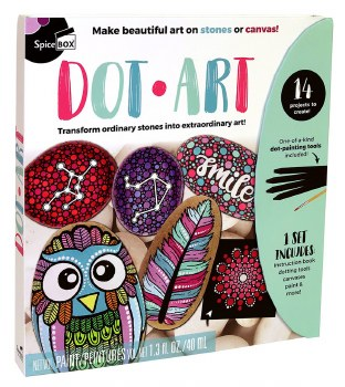 Spicebox Dot Art Kit