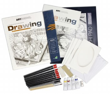 Spicebox Drawing Kit Art School