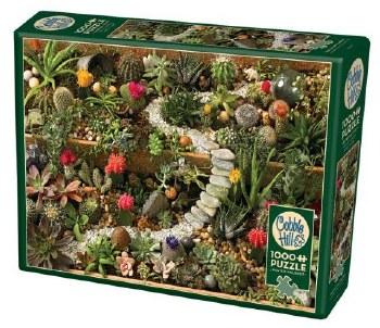 Cobble Hill 1000pc Succulent Garden