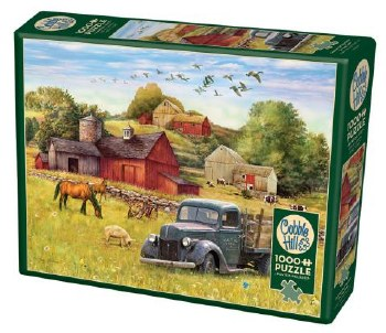 Cobble Hill 1000pc Summer Afternoon On The Farm