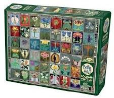 Cobble Hill 1000pc Art Nouveau Tiles