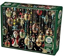 Cobble Hill 1000pc Christmas Ornaments