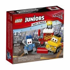 Lego Jr. Cars 3 Guido And Luigi's Pit Stop 10732