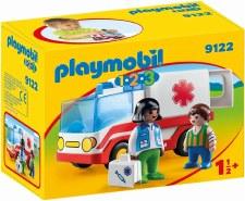 Playmobil 1-2-3 Rescue Ambulance