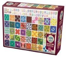 Cobble Hill 2000pc Quilt Blocks