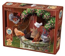 Cobble Hill 275pc The Chickens Are Well 88029
