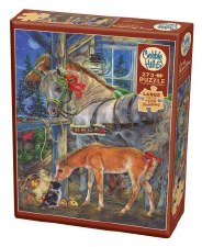 Cobble Hill 275pc Holiday Horsies 88035