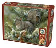 Cobble Hill 275pc Gray Squirrel Easy Handling