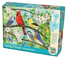Cobble Hill 350pc Family Puzzle Bloomin Birds 54606