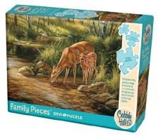 Cobble Hill 350pc Deer Family