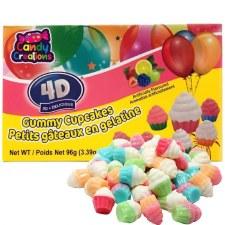 4d Gummy Cupcakes