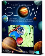4m Planets & Supernova Glow