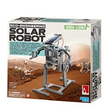4m Solar Robot Green Science