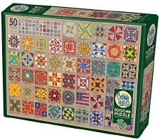 Cobble Hill 1000pc 50 State Quilt Block