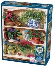 Cobble Hill 500pc Flower Cupboard