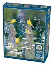 Cobble Hill 500pc Goldfinch Quartet