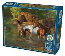 Cobble Hill 500pc Horse Pond