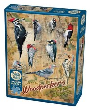 Cobble Hill 500pc Notable Woodpeckers