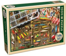 Cobble Hill 1000pc Fishing Lures