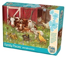 Cobble Hill 350pc Barnyard Babies Family Puzzle