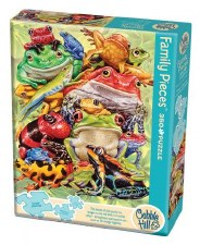 Cobble Hill 350pc Frog Pile Family Puzzle