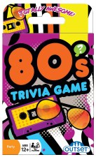 80s Trivia Card Game
