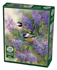 Cobble Hill 1000pc Chickadees & Lilacs