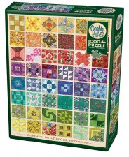 Cobble Hill 1000pc Common Quilt Blocks