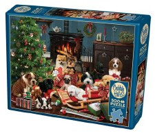 Cobble Hill 500pc Christmas Puppies