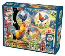 Cobble Hill 500pc Rooster Magic 85058