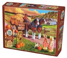 Cobble Hill Easy Handling 275p Hay Wagon 88010