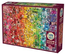 Cobble Hill 2000pc Rainbow