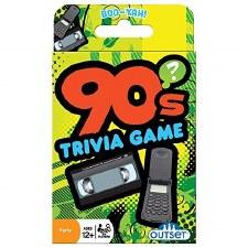 90's Trivia Card Game