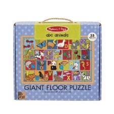 Melissa & Doug Giant Floor Puzzle 35pc Abc Animals