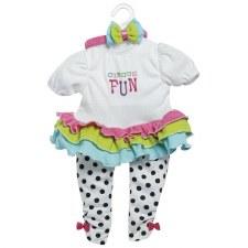 """Adora 20"""" Circus Fun Outfit"""