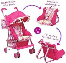 Adora 3-1 Stroller Set