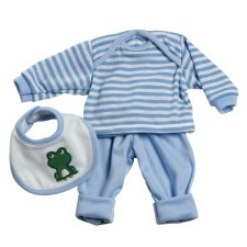 Adora 13 Blue Stripe Frog Outfit