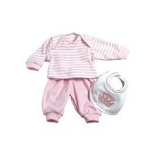 Adora 13 Pink Princess Stripe Outfit