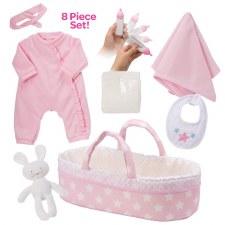 Adora Adoption Baby Essentials It's A Girl 8pc Set