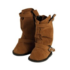 Adora Brown Slouchy Boots Friends 18""