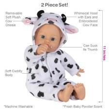 Adora Funsie Onesie Babies Cow