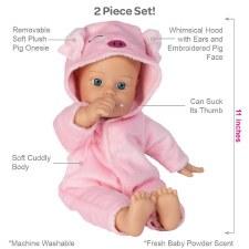 Adora Funsie Onesie Babies Pig