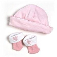 Adora Hat & Sock Set Pink