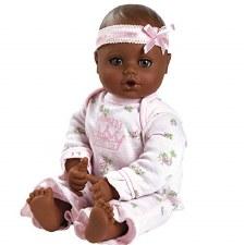Adora Play Time Babies Little Princess Dark Skin Brown Eyes