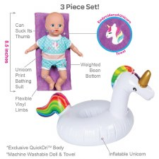 Adora Splash Time Baby Tot Magical Unicorn