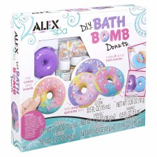 Alex Spa Diy Bath Bombs Donuts