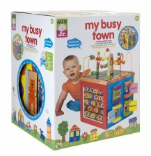 Alex My Busy Town Cube